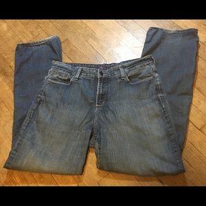 NYDJ Size 14 Straight-Leg Jeans
